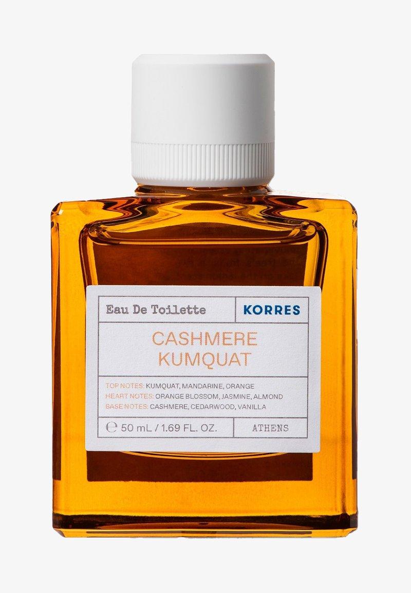 Korres - CASHMERE KUMQUAT EDT FOR HER - Woda toaletowa - -