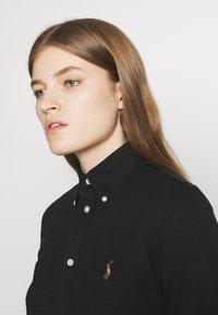 Polo Ralph Lauren - HEIDI LONG SLEEVE - Camisa - black - 3