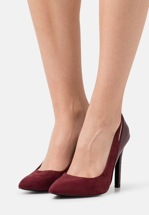 ONLCHLOE LIFE CUT OUT - Classic heels - bordeaux