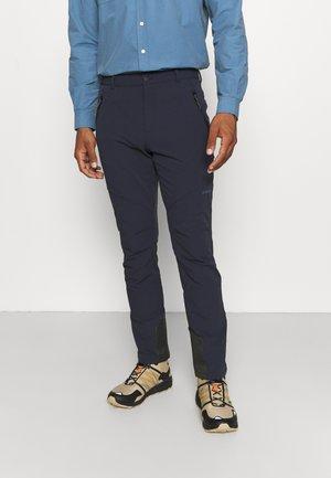 BANGOR - Outdoorové kalhoty - dark blue