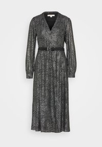 MICHAEL Michael Kors - GALAXY MIDI  - Cocktail dress / Party dress - black/silver - 5