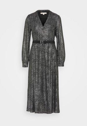 GALAXY MIDI  - Koktejlové šaty/ šaty na párty - black/silver