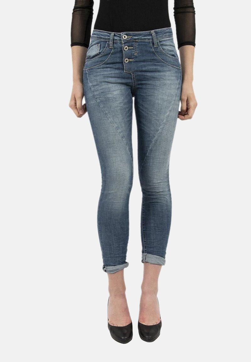 PLEASE - Jeans Skinny Fit - bleu