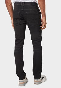 TOM TAILOR - TROY - Slim fit jeans - black stone wash denim - 2