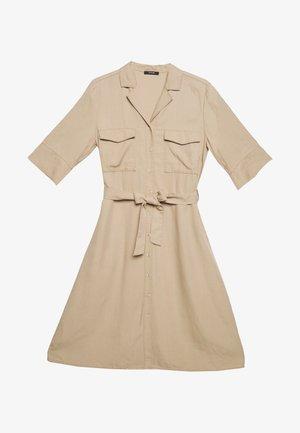 WULITA - Shirt dress - soft ginger