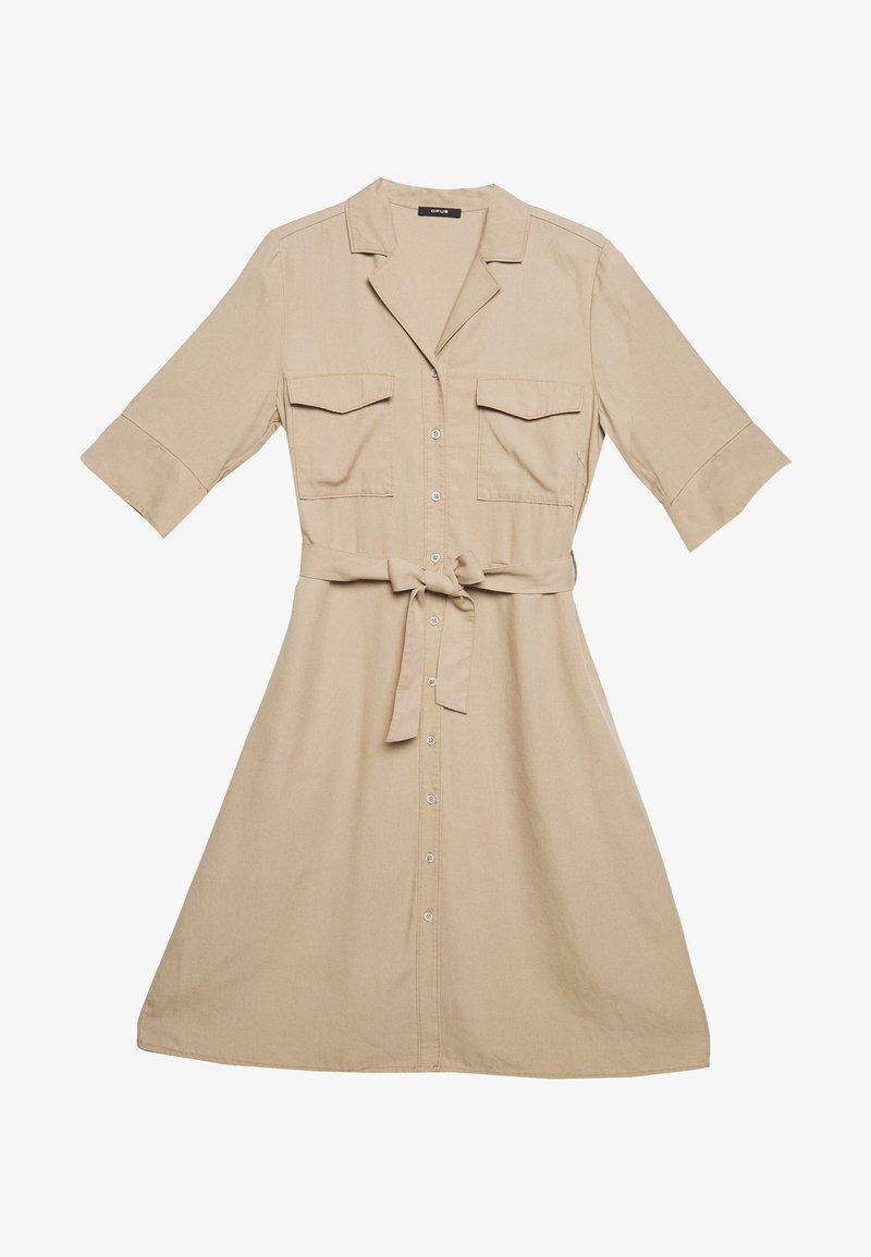 Opus - WULITA - Shirt dress - soft ginger