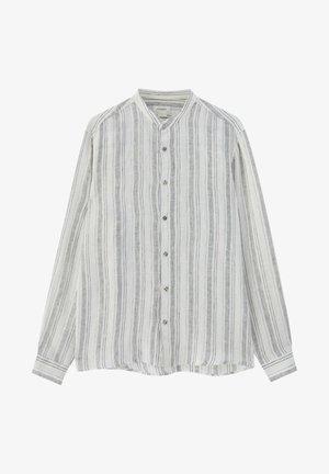 Košile - metallic grey