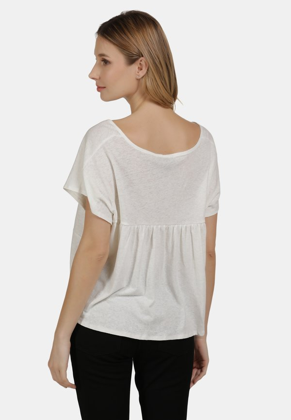 DreiMaster Koszula - wollweiss/biały WDCJ