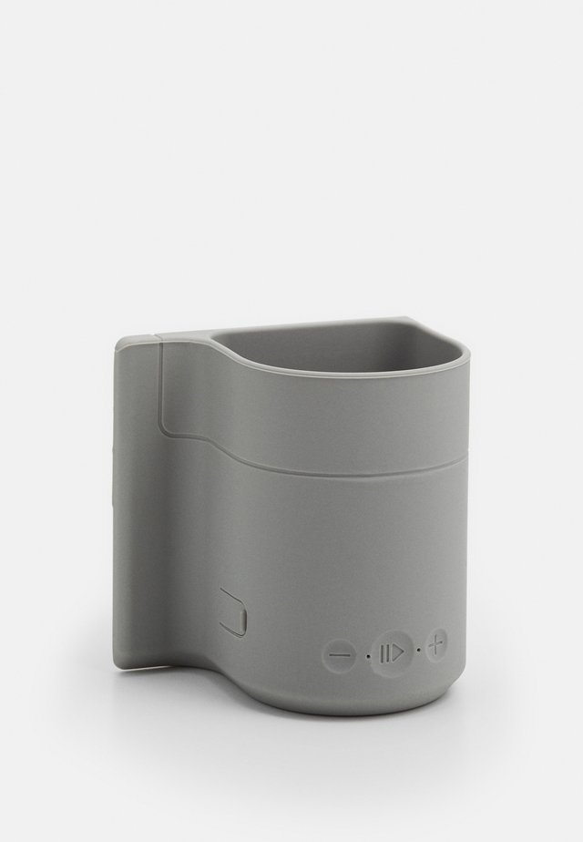 BEER HOLDER SHOWER SPEAKER - Reproduktor - cool grey