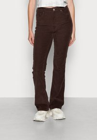 BDG Urban Outfitters - FLARE - Bukse - chocolate - 0