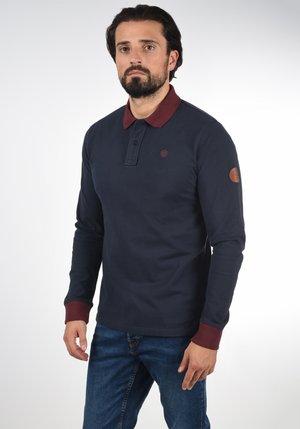 LANGARM-POLO RALLE - Polo shirt - dark navy