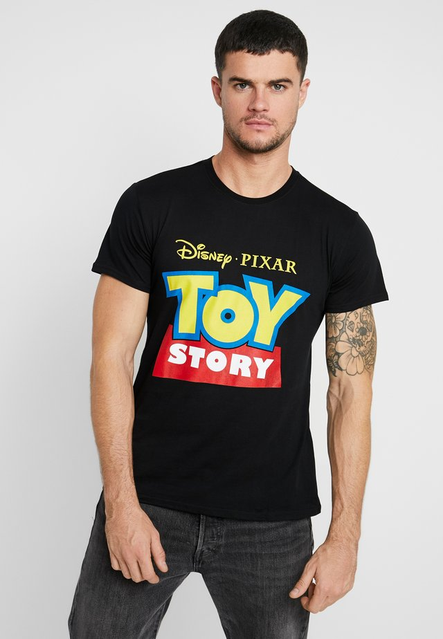 TOY STORY LOGO TEE - Print T-shirt - black