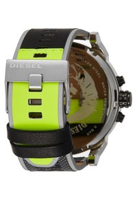 Diesel - MR. DADDY 2.0 - Chronograph watch - black/grey/yellow - 2