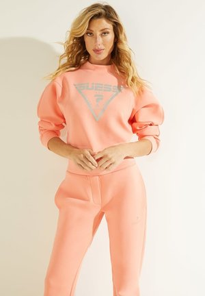 LOGODREIECK - Sweatshirt - korallenrot