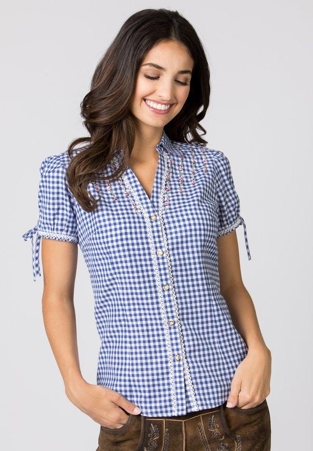 FLAVIA - Button-down blouse - blue