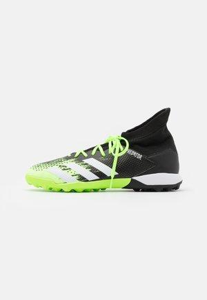 PREDATOR 20.3 FOOTBALL BOOTS TURF - Astro turf trainers - signal green/footwear white/core black