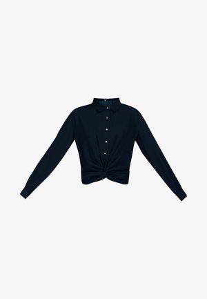 DREIMASTER BLUSE - Button-down blouse - marine