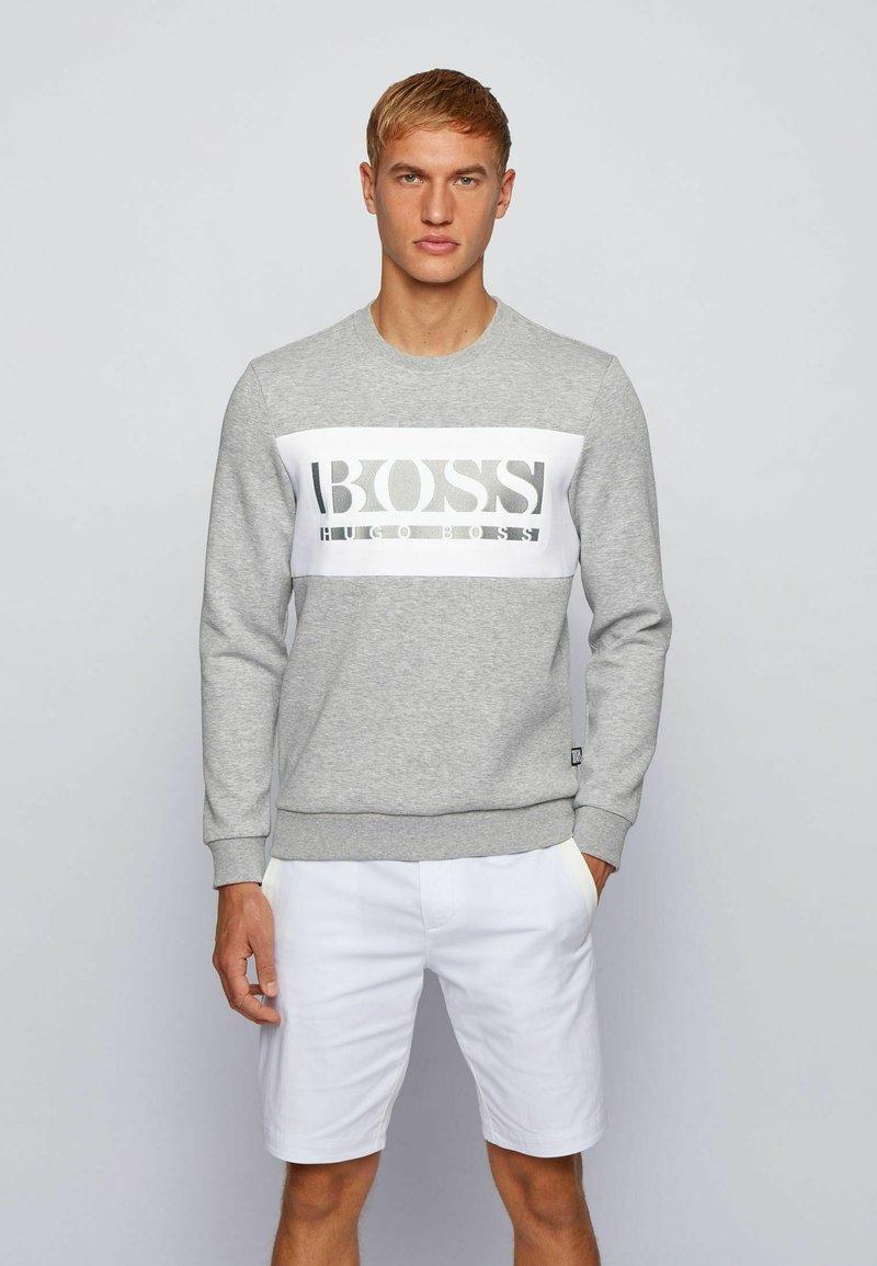 BOSS - SALBO - Sweatshirt - light grey