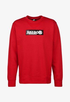 JUST DO IT - Sweatshirt - university red
