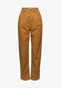 Esprit - Trousers - camel - 7