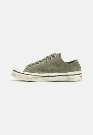 Trainers - olive/stone white