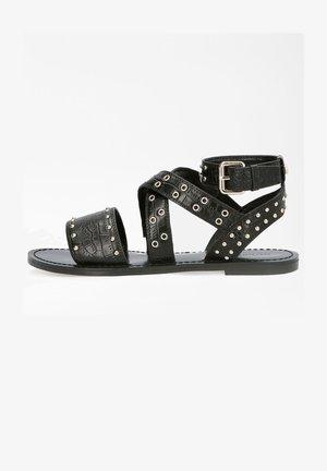 CEVIE  - Ankle cuff sandals - schwarz