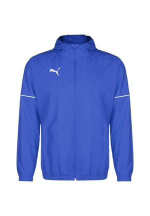 TEAMGOAL CORE REGENJACKE HERREN - Trainingsvest - electric blue lemonade / puma white
