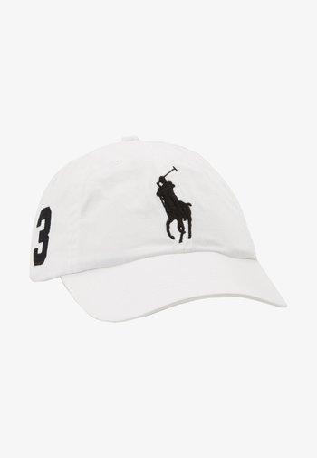 CLASSIC SPORT CAP  - Lippalakki - white