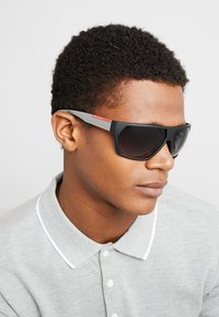 Prada Linea Rossa - Sunglasses - black rubber - 1