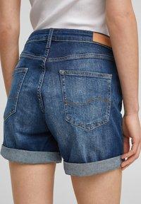 Q/S designed by - Denim shorts - blue - 4