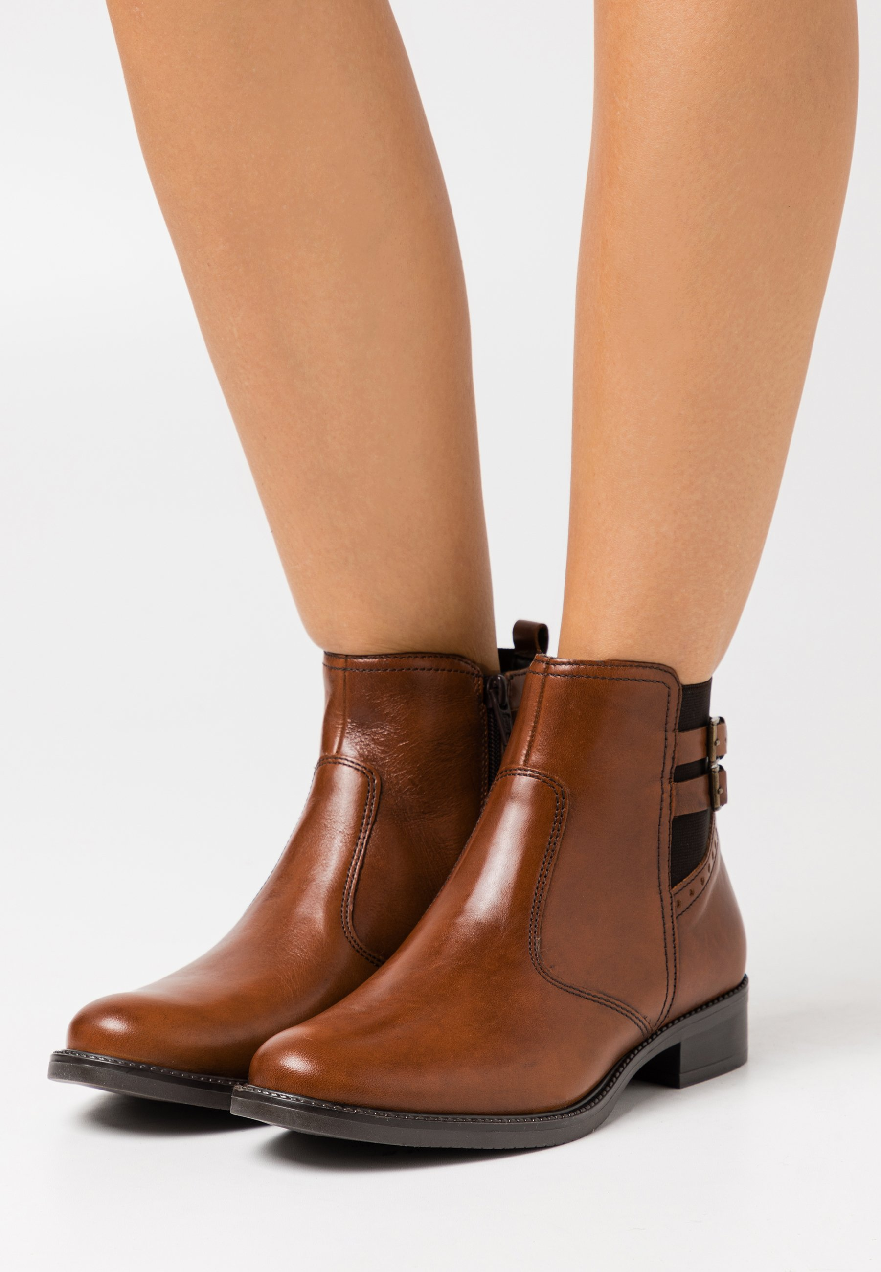 Women LEATHER - Classic ankle boots