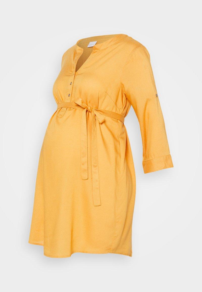 MAMALICIOUS - MLMERCY TUNIC - Tunic - golden apricot