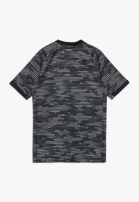 adidas Performance - Print T-shirt - black/truora - 1