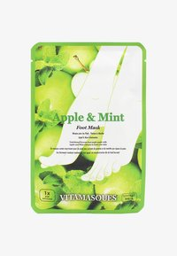 APPLE AND MINT FOOT MASK 32G - Foot mask - neutral