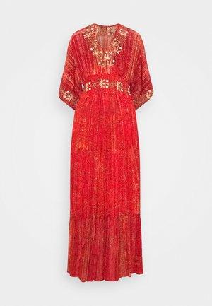 PORTLAND - Maxi dress - red
