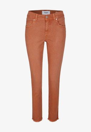 ORNELLA GLAMOUR - Slim fit jeans - braun