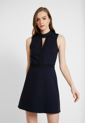 PONTE SPLICED PROM - Cocktail dress / Party dress - navy