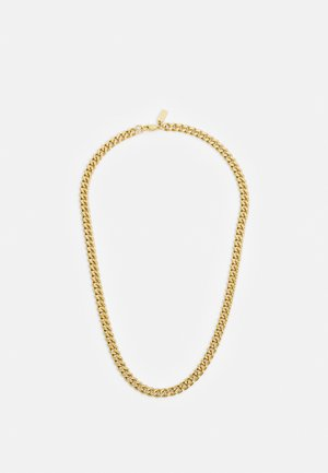 CUBAN LINK CHAIN NECKLACE - Kaulakoru - gold-coloured