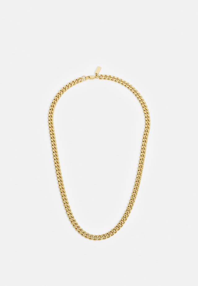 CUBAN LINK CHAIN NECKLACE - Collana - gold-coloured