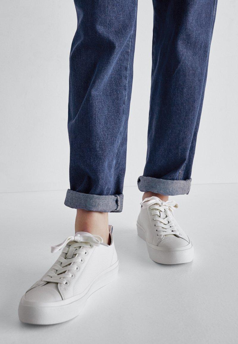 Massimo Dutti - Sneakersy niskie - beige