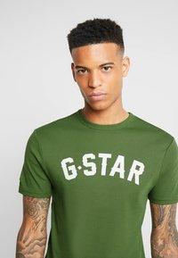 G-Star - GRAPHIC 16 R T S/S - Camiseta estampada - kelly green - 3