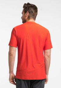 Haglöfs - L.I.M TECH TEE - Print T-shirt - orange - 1