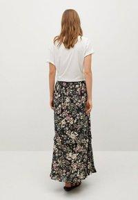 Mango - Pleated skirt - black - 2