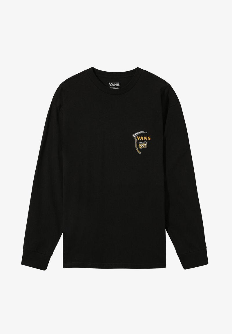 Vans MN GATE CRASHER LS - T-Shirt print - black/schwarz UxwwwJ
