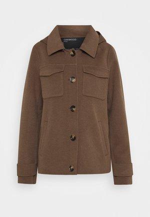 AMALFI - Classic coat - dark khaki