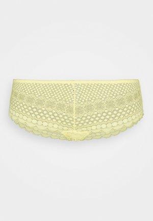 CHERIE CHERIE SHORTY - Pants - jaune acidule