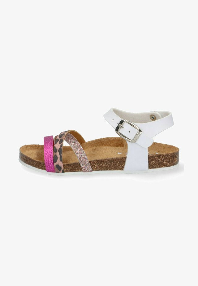 SAAR SPAIN - Sandals - white