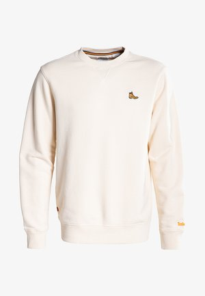 BOOT LOGO CREW NECK - Sweatshirt - white smoke