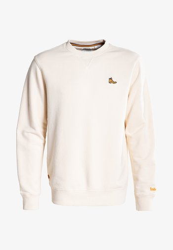 BOOT LOGO CREW NECK - Sweatshirt - white smoke