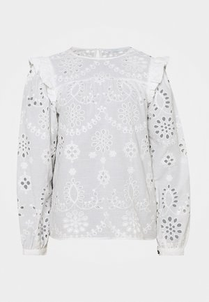MILA EMBROIDERY BLOUSE - Blouse - off white